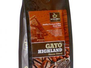 SEVEN BIKA GAYO HIGHLAND HOUSE BLEND BAG COFFEE 200 Gr [Ground]