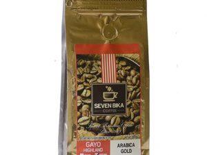 SEVEN BIKA GAYO HIGHLAND ARABICA GOLD 200 Gr [Ground]