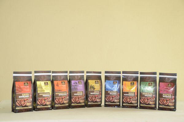 SEVEN BIKA BALI KINTAMANI PURE ARABICA BAG COFFEE 200 Gr [Ground]