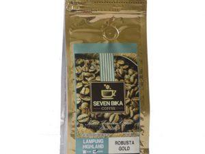 SEVEN BIKA LAMPUNG HIGHLAND ROBUSTA GOLD 200 Gr [Beans]