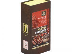 SEVEN BIKA GAYO HIGHLAND PURE ARABICA BOX COFFEE 200 Gr [Ground]