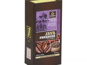 SEVEN BIKA JAVA PREANGER PURE ARABICA BOX COFFEE 200 Gr [Ground]