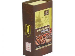 SEVEN BIKA SIDIKALANG ORGANIC PURE ARABICA BOX COFFEE 200 Gr [Ground]