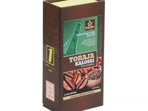 SEVEN BIKA TORAJA KALOSSI PURE ARABICA BOX COFFEE 200 Gr [Ground]