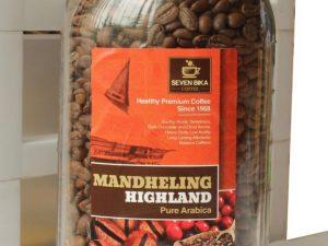 SEVEN BIKA MANDHELING HIGHLAND 'COFFEE IN THE BOTTLE'  [BEANS / GROUND] 700 GR